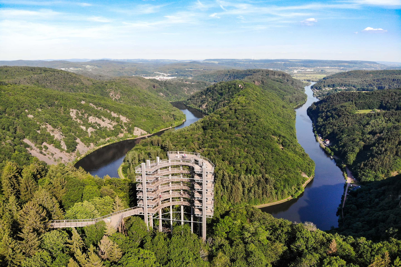 SaarlandTraum Weihermühle - Baumwipfelpfad Saarschleife Orscholz